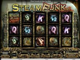Steam Punk Heroes zdarma online automat