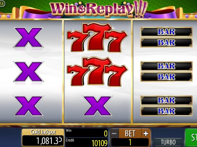 Win & Replay!!! online automat zdarma