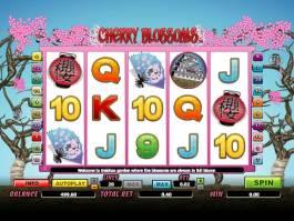 casino onilne automat Cherry Blossoms zdarma