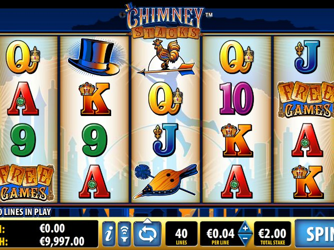 zdarma online hrací automat Chimney Stacks