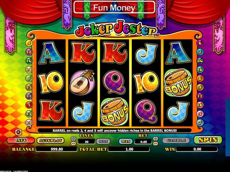 online výherní automat Joker Jester