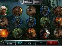 Jurassic Park online automat zdarma