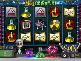 Casino online automat zdarma Mad Scientist