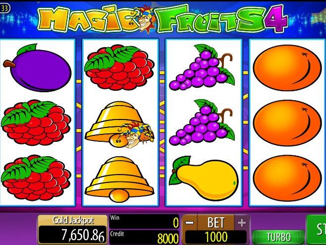 online hrací automat zdarma Magic Fruits 4