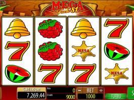 casino online automat Mega Jack 81 zdarma