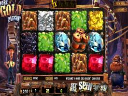 Online casino automat More Gold Diggin´ zdarma