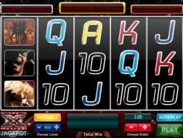 The X-Factor Jackpot online automat zdarma