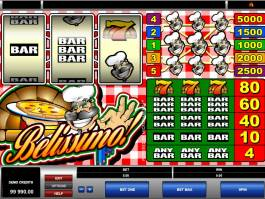 online hrací automat Belissimo zdarma