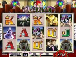 hrací online automat zdarma BrideZilla