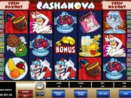 Herní online automat Cashanova zdarma