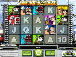Online automat zdarma Demoliton Squad