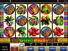 hrací online automat Dino Might zdarma
