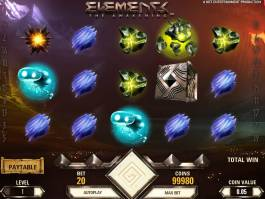 Casino online automat Elements zdarma