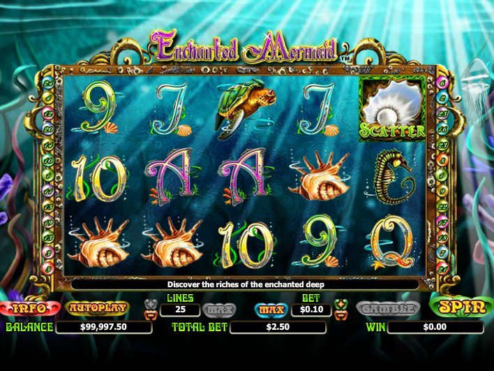 Enchanted Mermaid automat online zdarma
