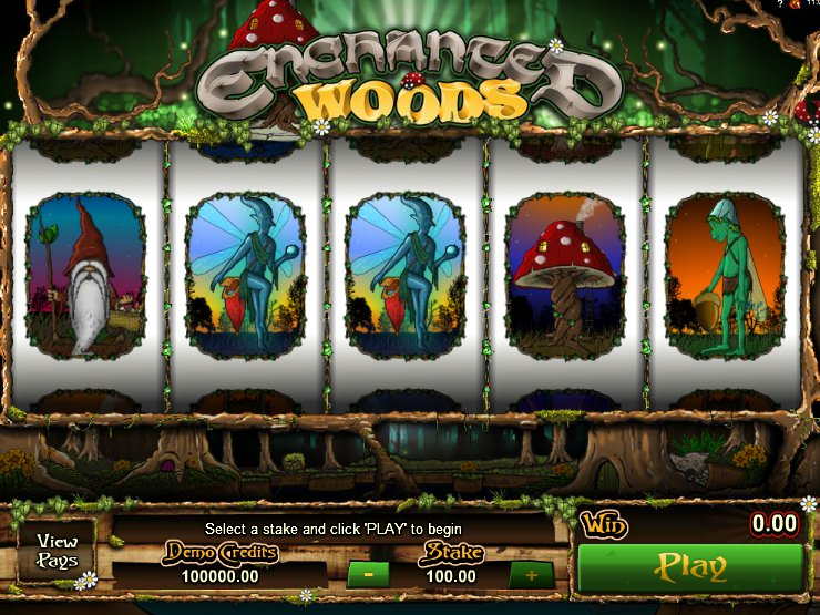 Výherní online automat Enchanted Woods