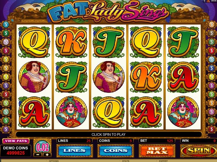 výherní automat Fat Lady Sings online zdarma