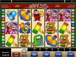 Herní automat Gift Rap online zdarma