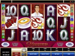 Hrací online automat Harveys zdarma