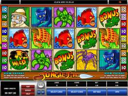Casino online automat Jungle Jim zdarma