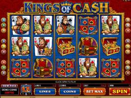 Kings of Cash online hrací automat zdarma