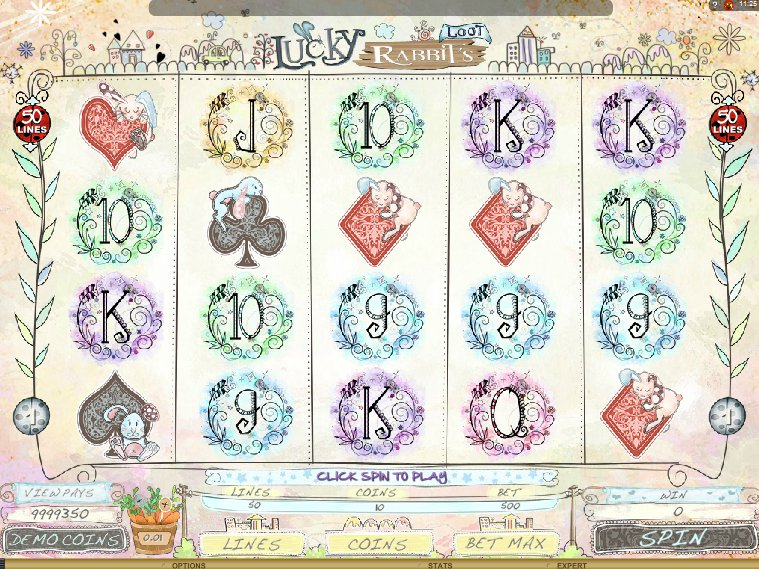 Hrací online automat Lucky Rabbit´s Loot