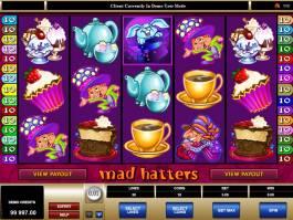 hrací automat Mad Hatters online zdarma