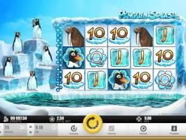 Výherní online automat Pinquin Splash zdarma