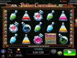herní online automat zdarma Potion Commotion