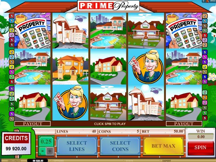 Herní online automat Prime Property