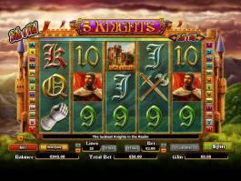 Herní automat 5 Knights online zdarma