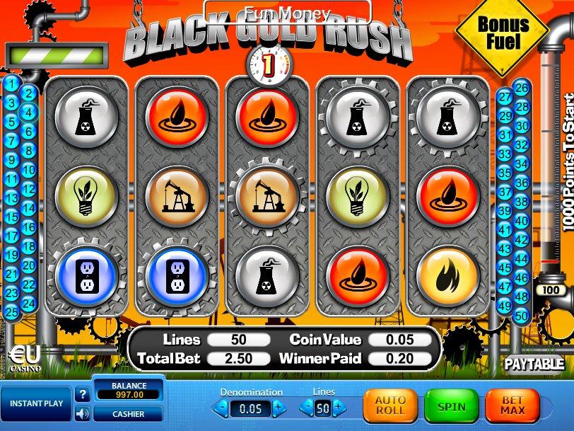 Black Gold Rush online hrací automat zdarma