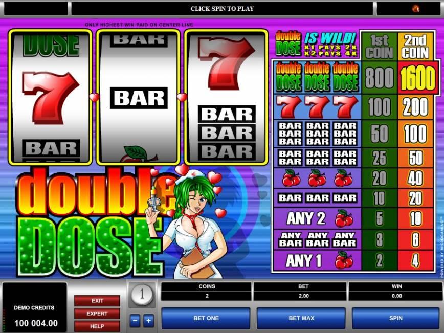 Herní automat Double Dose zdarma