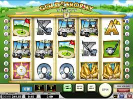 Online automat zdarma Gold Trophy