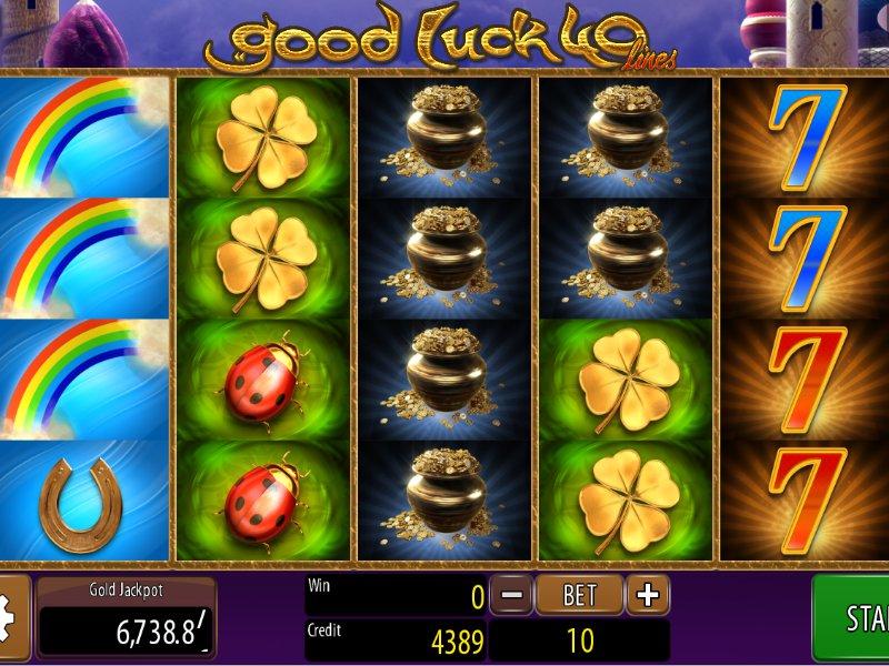 Automat Good Luck 40 online zdarma