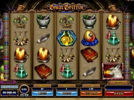 Casino automat Great Griffin online zdarma