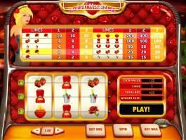 Online herní automat Love Machine zdarma