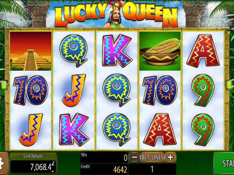 Casino online automat Lucky Queen zdarma