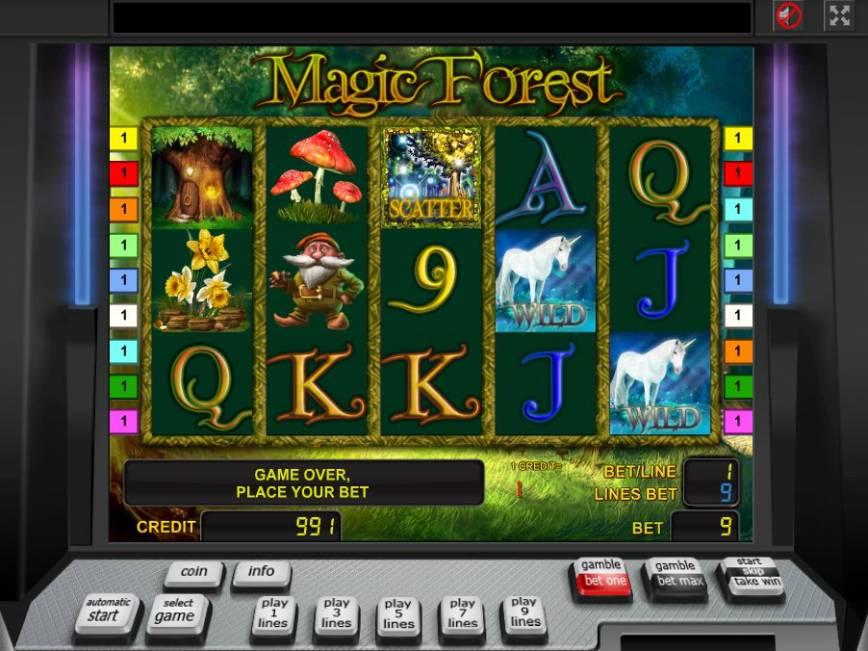 Casino automat zdarma Magic Forest online