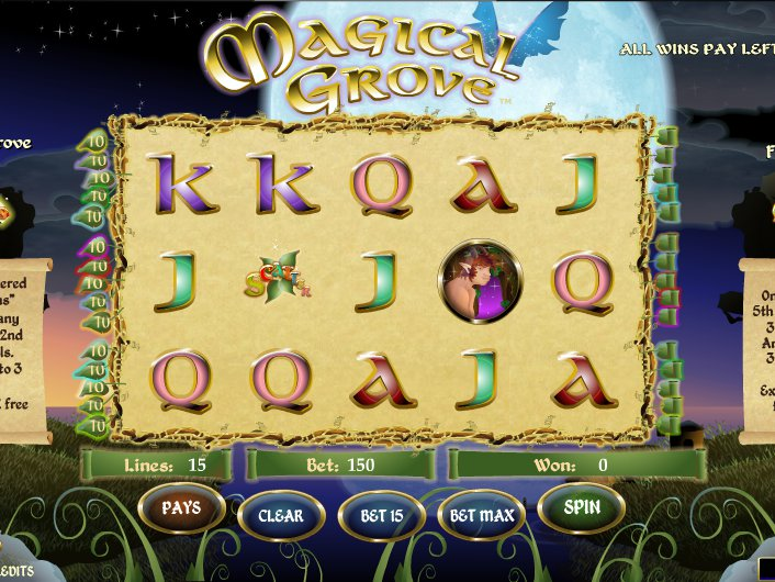 Casino automat Magical Grove online zdarma