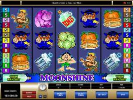 Casino automat Moonshine online zdarma