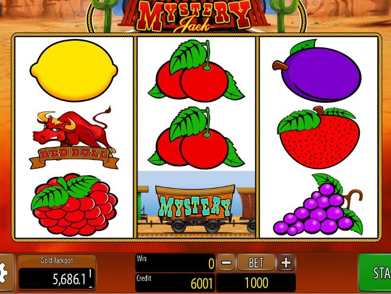 Hrací automat Mystery Jack online zdarma