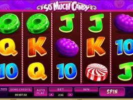 Herní automat So Much Candy zdarma online