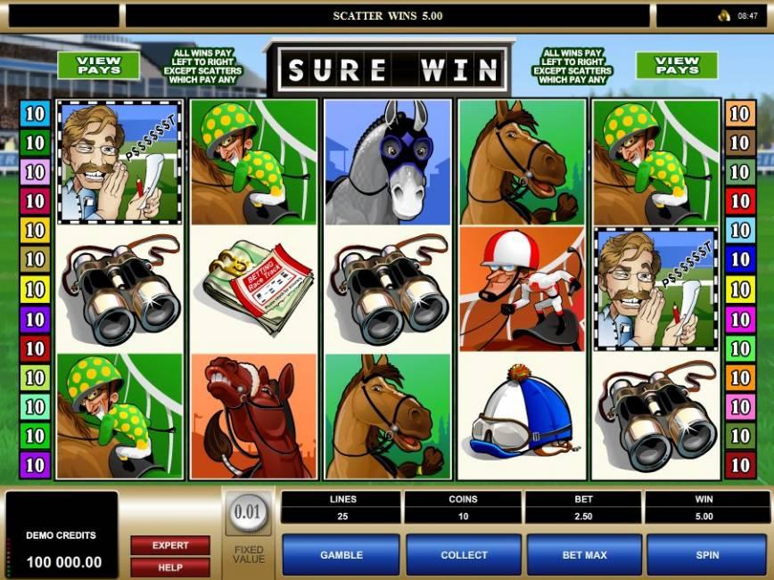 Casino online automat zdarma Sure Win
