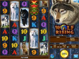 Herní automat Wolf Rising online zdarma