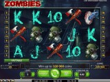 Herní online automat Zombies zdarma