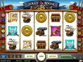 Zdarma herní online automat Jolly Roger