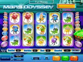 Herní automat Mars Odyssey online zdarma