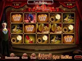 Herní automat Moulin Rouge online zdarma