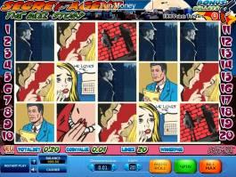 Zdarma hrací automat Secret Agent