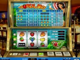 Online hrací automat Tropical Juice zdarma